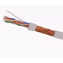 SFTP CAT6 LSZH Câble Fluke Testé Soild Nare Copper Grey