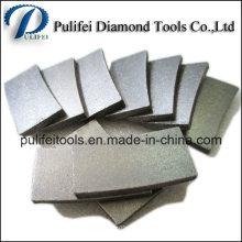 Segment de coupe de diamant de grès pour la lame de scie de pont