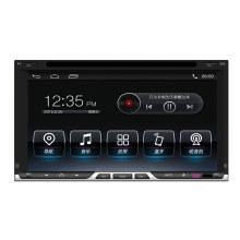 Hualingan GPS de navegación Android 4.4 Universal doble DIN coche reproductor de DVD