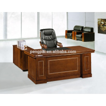 luxury model new designs office table with side table