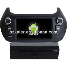 leitor de dvd do carro para o sistema Android Fiat Fiorino