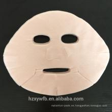 2017 Venta Caliente Desechable Rosa Rosa Impresión de Colores hoja de máscara facial