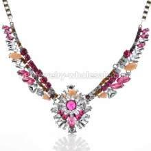 Alas de Ángel colorido forma increíble collar para damas