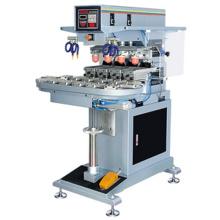 Máquina de impresión Tampo de placa giratoria automática 4 Color
