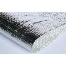 High Temperature Fiberglass Cloth Coated Aluminum , 0.5 - 6mm Thickness