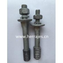 Crossarm Pins, Insulator Pins, Aerial Pole Line Hardware