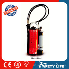 treinamento extintor de incêndio / mochila equipamentos de combate a incêndio
