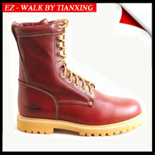 RUBBER OUTSOLE WELTED WORK BOOTS