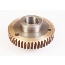 Custom Good Price Bronze Worm Wheel with Hub
