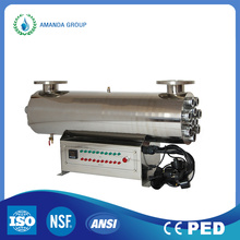 200W SUS304 Ultraviolet Light Water Sterilization System