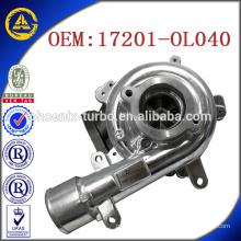 CT16V 17201-OL040 turbo pour TOYOTA