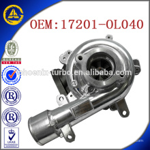 CT16V 17201-OL040 turbo for TOYOTA