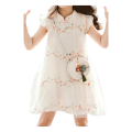 Girls Stylish Princess Lace Dress