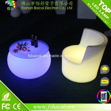 Cheap Bar LED Furniture à vendre Chaise en plastique Unique Bar Furniture