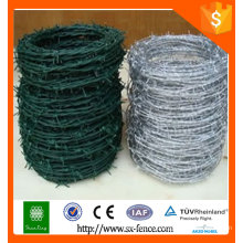 China supplier Hot dipped stainless galvanized /PVC coated Barbed wire / cheap barbed wire