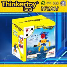 Thinkertoyland 3+ crianças DIY brinquedo de educação grátis construir