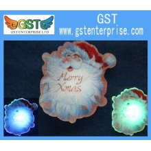 3.4 Inches PVC LED Xmas Ornament