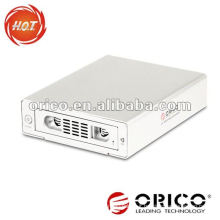 ORICO aluminum 3.5'' usb2.0 sata hdd external enclosure with 1394a/1394b firewire interface,for iPhones
