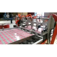 Automatic tinplate cutting machinery for can body making