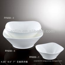 Emmy series hotel&restaurant white porcelain dinnerware, porcelain plate,fine porcelain