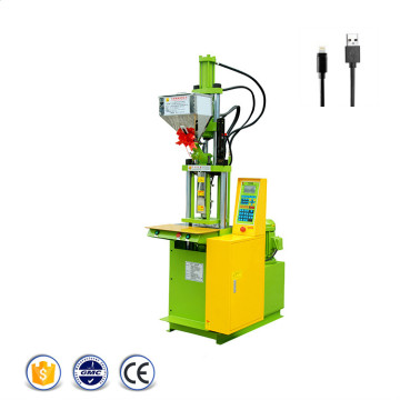 USB+Charging+Cable+Vertical+Injection+Molding+Machine