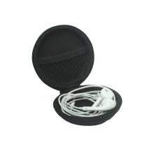 Custom Earphone Carrying Box EVA Zipper Case