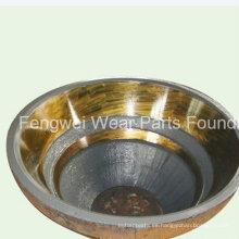 Resistente al desgaste mantillo de manganeso de alto manganeso Metso Gp300