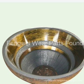 Wear-Resistant High Manganese Cone Crusher Mantle of Metso Gp300