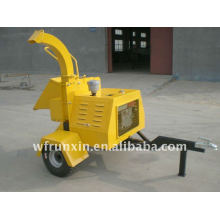Diesel Engine powered wood chipper with CE certificate
