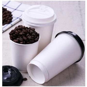 Heiße Pappbecherhülle, individuelle Kaffeetassenhülle aus Papier mit Logo, Kaffeebecher