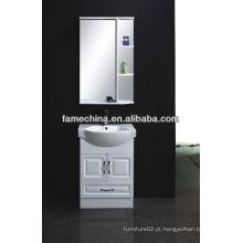 Nova casa de banho de MDF Armário de estufa de vidro