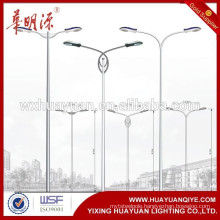 galvanized street lamp post