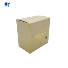 Coated paper candle packaging box