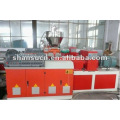 máquina plástica de madera del perfil del wpc de la máquina de producción del entarimado del wpc de la máquina