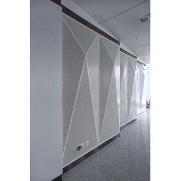 Perforierte Aluminium-Waben-Wanddekoration-Paneele