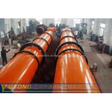 Fornecemos o madeira serragem secador giratório cilindro secador