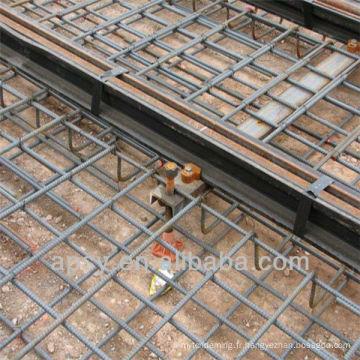maille métallique pour matériau de construction / maille en béton