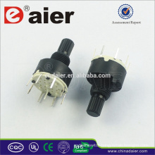 8 position rotary switch, mini rotary switch