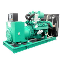 60Hz 1800rpm 500kw 625kVA Combustible doble Gas Generador Diesel