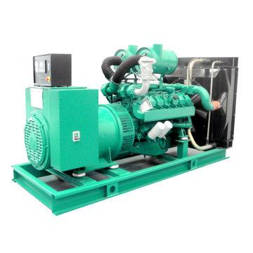 Auto Voltage Regulate 500kw 625kVA Diesel Generator Electric Silent Canopy