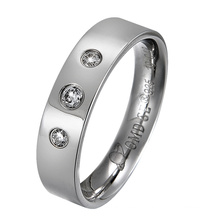 Fashion Jewellery Wedding Band Rings 925 Sterling Silver Jewelry