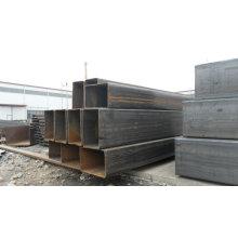 MS erw tubes carrés tubes rectangulaires ASTM A500 / Gr B / Q235 / SS400
