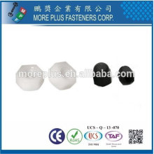 Тайвань нержавеющей стали ПК N66 натуральный черный нейлон пластик, нейлон пластик нейлон замок Гайка Гайка фланца