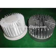 Dissipador de calor de LED heronbill de alumínio de extrusão