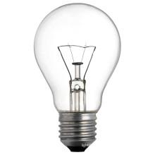 Bombilla incandescente transparente con A15 (48mm) E26 / E27