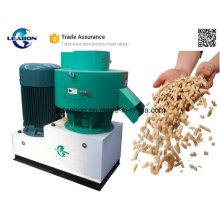 Cosse de riz d'approbation de Ce / branche en bois / granule de bois de rebut / herbe faisant la machine