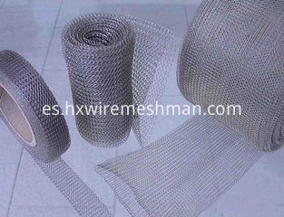 knitted wire fabric