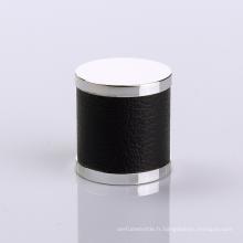 Bouchon de bouteille de parfum en cuir de revêtement UV de fournisseur orienté par exportation