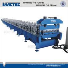 Rolo corrugado de alta velocidade da plataforma de assoalho de aço que forma a máquina