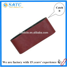 banda de lijado abrasivo para máquinas de cinta metálica o portátil de madera